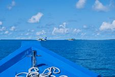 Free Horizon Of Indian Ocean In Maldives Stock Photography - 16528992