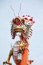 Free Dragon On Blue Sky Stock Image - 16534721
