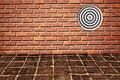 Free Goal On Brickwall Pattern Stock Photography - 16535382