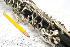 Free Clarinet Royalty Free Stock Images - 16530049