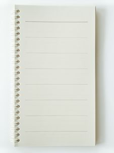 Free Opened Notebook Stock Photos - 16530273