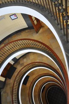 Free Spiral Staircase Stock Photo - 16530750