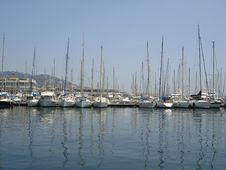 Cannes Marina Royalty Free Stock Photo