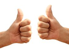 Free Hands With Thumb Up Stock Photos - 16531183