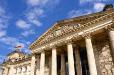 Free Detail Of The Reichstag, The German Parliament Stock Photography - 16531352