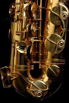 Tenor Saxophone Stock Image