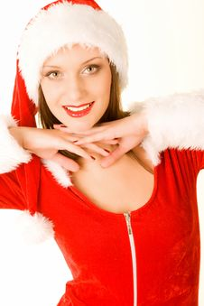 Free Beautiful Mrs Santa Claus Royalty Free Stock Photography - 16531967