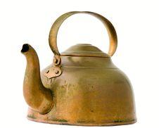 Free Copper Ketltle Stock Photography - 16532452