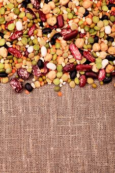Free Beans Mix Royalty Free Stock Photo - 16532455
