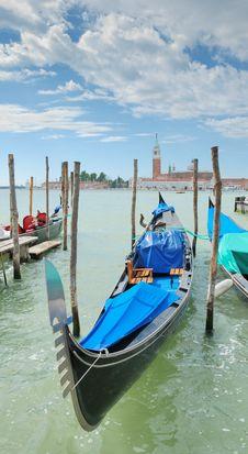 Gondola. Royalty Free Stock Photography