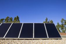 Free Solar Panels On The Roof Royalty Free Stock Images - 16533719