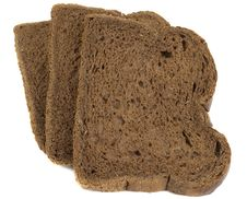 Free Slices Of Black Ray Grain Bread Royalty Free Stock Photography - 16533827