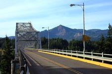 Free Bridge Of The Gods, Oregon. Stock Images - 16534104
