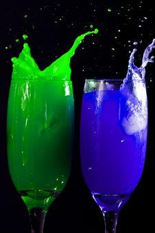 Free Crazy Drinks Royalty Free Stock Photo - 16534305