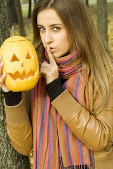 Free Shhhhhhhh Halloween Royalty Free Stock Photos - 16534758