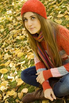 Free Autumn Portrait Royalty Free Stock Photos - 16534958