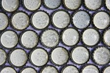 Free A Soft Sponge In The Bottle Cap Stock Images - 16535114