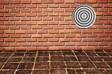 Free Goal On Brickwall Pattern Stock Photography - 16535382
