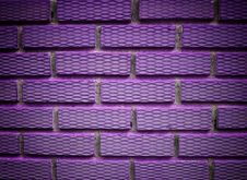 Free Violet Brick Stock Photo - 16535670