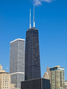 Free Modern Chicago Architecture Royalty Free Stock Photography - 16536137