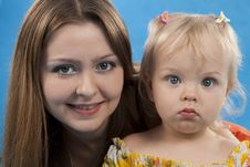 Free Mother And Daughter. Royalty Free Stock Photos - 16538108