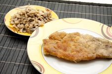 Free Roasted Cutlets Royalty Free Stock Photo - 16538535
