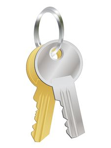 Free A Bunch Of Two Metal Keys Royalty Free Stock Photos - 16538678