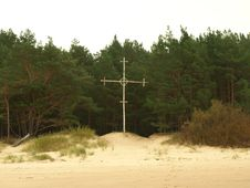 Free Cross On The Coast Stock Photos - 16538753