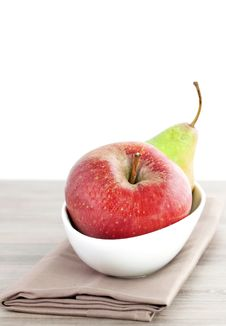 Free Apple And Pear Stock Image - 16538881