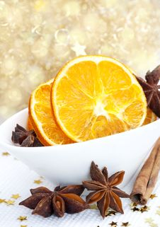 Free Dried Orange Slices Royalty Free Stock Image - 16539366