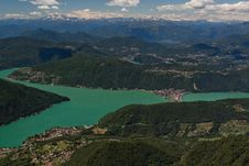 View From Monte Generoso Stock Images