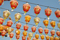 Free Red  Silk Lanterns Stock Photo - 16543110