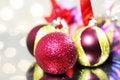 Free Three Red Christmas Balls Royalty Free Stock Photos - 16544498