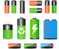 Free A Set Of Batteries Royalty Free Stock Photo - 16547585