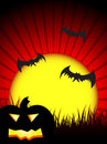 Free Halloween Night Background Royalty Free Stock Images - 16548019