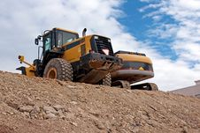 Free Bulldozers Stock Photography - 16540162