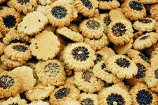 Free Close Up Of Cookies On Market Stand Royalty Free Stock Photos - 16540458