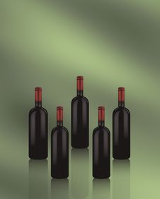 Free Red Wine Royalty Free Stock Photo - 16541025