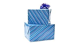Free Presents In Blue Boxes Royalty Free Stock Images - 16541049