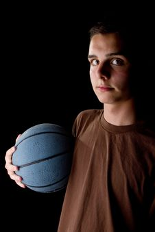 Free Young Basketball Player Royalty Free Stock Image - 16541406