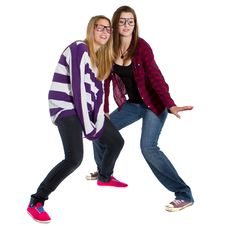 Free Young Trendy Teenagers Stock Photo - 16541460