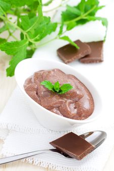 Free Chocolate Pudding Royalty Free Stock Photos - 16541718
