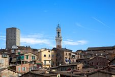 Free Skyline Of Siena, Italy Stock Images - 16543214