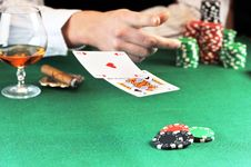 Free Card Play Royalty Free Stock Photos - 16543828