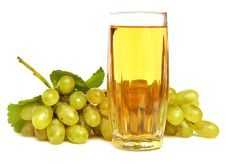 Free Glass With Grapes Juice Stock Images - 16543914