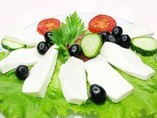 Mediterranean Breakfast Stock Images