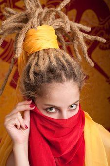 Free Exotic Girl Stock Photo - 16544040