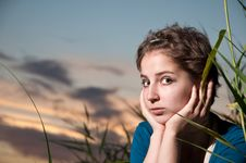 Free Portrait Of A Young Woman Stock Photography - 16544082