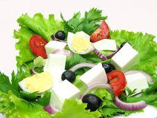 Free Greek Salad Stock Photography - 16544132