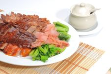 Free Roast Duck And Barbecued Pork Stock Images - 16544314